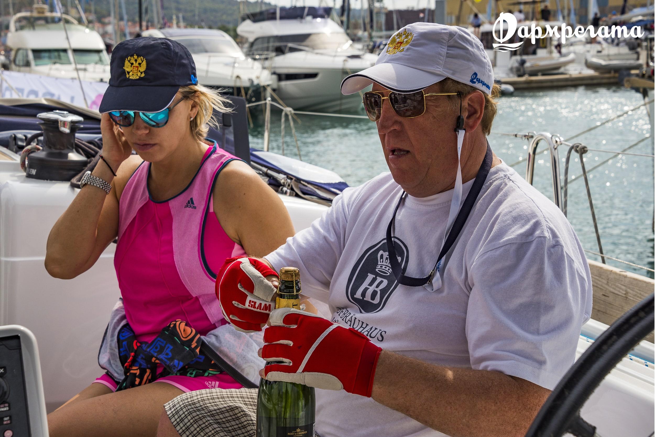 Экипаж яхты, отдых - ДСМ групп Фармрегата 2017 - DSM Group Pharmregata 2017