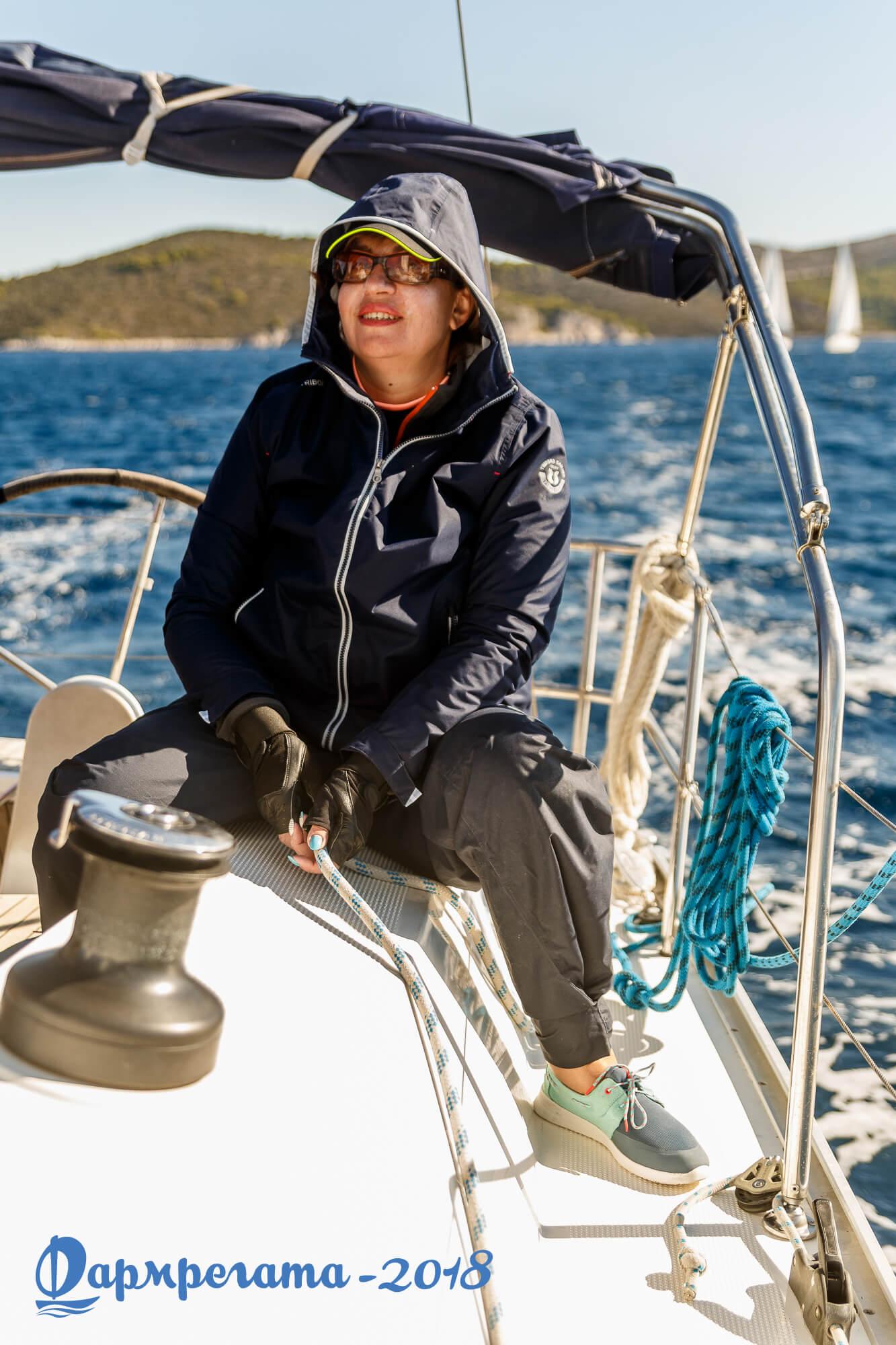Член экипажа яхты - ДСМ групп Фармрегата 2018 - DSM Group Pharmregata 2018