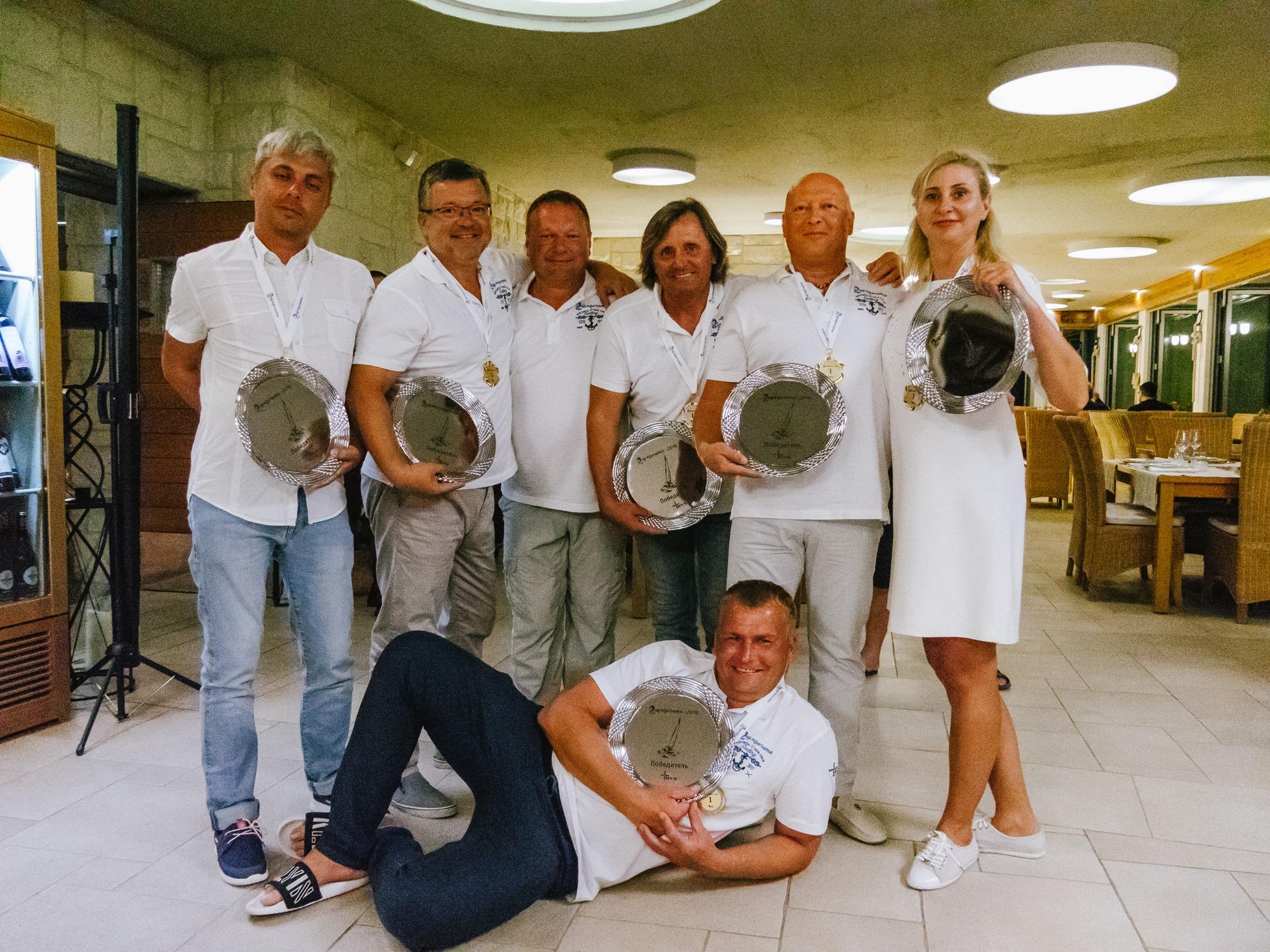 Победители фармрегаты 2019 - ДСМ групп Фармрегата 2019 - DSM Group Pharmregata 2019